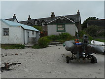 NM2824 : Isle of Iona: beach and post office by Chris Downer