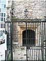 TQ3381 : Entrance to St Andrew Undershaft by Basher Eyre