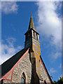 SN1637 : Belfry: Parish Church of Llanfair Nant-gwyn by Dylan Moore