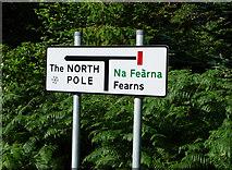 NG5536 : Road sign in Inverarish by John Allan
