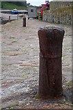 SW5130 : Cannons? West pier of St. Michael's Mount harbour by Bob Embleton