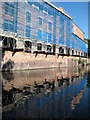 SO8554 : Canal side development, Worcester by Philip Halling