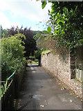 SS9843 : Gallox Bridge footpath by Basher Eyre