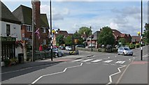 SK4003 : Station Road in Market Bosworth by Mat Fascione