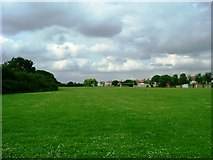 TQ1281 : King George's Field, Southall by Phillip Perry