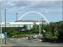 TQ1985 : Wembley Arch by Phillip Perry