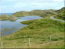 NB4118 : Loch na Buaile Duibhe by Dave Fergusson