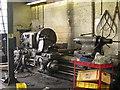 SH5837 : Wheel lathe, Boston Lodge works, Ffestiniog Railway by Rudi Winter