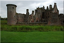 NY0265 : Caerlaverock Castle by Philip Halling