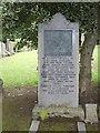 NT2374 : Grave of Jock Porter, Scotland's first TT winner by ronnie leask