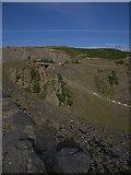 SN7948 : Llyn Brianne dam by Rudi Winter