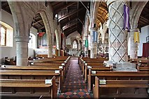 SD6178 : St Mary's Church, Kirkby Lonsdale, Cumbria - North aisle by John Salmon
