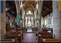 SD6178 : St Mary's Church, Kirkby Lonsdale, Cumbria - East end by John Salmon