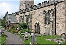 SD6178 : St Mary's Church, Kirkby Lonsdale, Cumbria by John Salmon