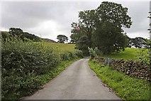 SD6382 : Winding lane from church by John Salmon