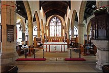 SD5192 : Holy Trinity Church, Kendal, Cumbria -  Chancel by John Salmon