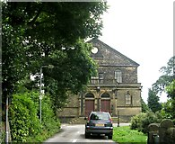 SE1017 : Salendine Nook Baptist Church - Moor Hill Road by Betty Longbottom