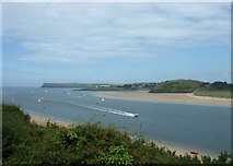SW9276 : River Camel estuary by Simon Huguet