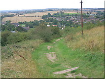 SK4023 : Public Footpath from the Church to the Village, Breedon on the Hill by Bill Henderson