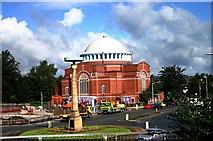 SD8912 : A Rochdale church by R lee