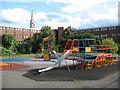 TQ3279 : Playground in Little Dorritt Park by Stephen Craven