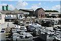 SX0783 : St Teath: Delabole slate yard by Martin Bodman