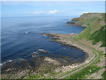 C9444 : Giant's Causeway from Cliff Path by Sue Adair