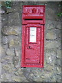 SY5997 : Frome Vauchurch: postbox detail by Chris Downer