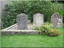 SU7037 : Graves of Jane Austen's mother and sister by Basher Eyre