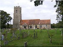 TM3959 : St John the Baptist Church, Snape by Geographer