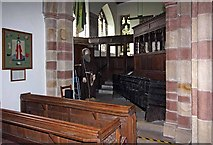 SD4983 : St Peter's Church, Heversham, Cumbria by John Salmon