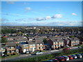 SJ4288 : Childwall Valley with Belle Vale Shopping Centre in middle distance. by Colin Pyle