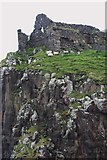 NG4074 : Duntulm Castle by Andrew Wood