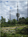 SO9688 : Turners Hill transmission masts by Row17