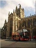 ST7564 : Bath Abbey by Derek Harper