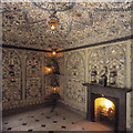 SN2238 : Cilwendeg Shell House interior by Suzannah Fleming