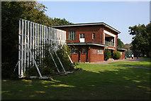 TQ2688 : The Pavilion, Lyttleton Playing Fields by Martin Addison