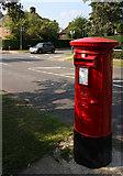 TQ2688 : Pillar Box on Holne Chase. by Martin Addison