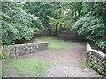 SE0327 : Wade Bridge, Luddenden Dean by Humphrey Bolton