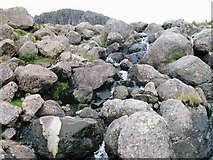 NY2807 : Approaching Stickle Tarn by Peter S