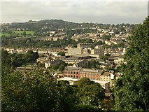 ST7464 : Bath from Beechen Cliff by Derek Harper
