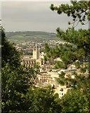 ST7564 : Bath Abbey from Beechen Cliff by Derek Harper