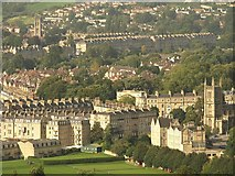 ST7565 : Bathwick from Beechen Cliff by Derek Harper