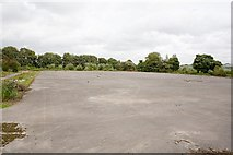 SU4627 : Parade Ground at Bushfield Camp by Peter Facey