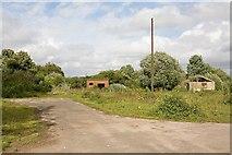 SU4727 : Part of derelict Bushfield Camp by Peter Facey