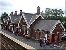 NY6820 : Appleby-in-Westmorland Station : Main building by Rob Farrow