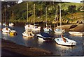 NT1876 : Low Tide on the River Almond at Cramond by Sarah Charlesworth