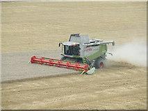 TM2863 : Harvesting by Keith Evans