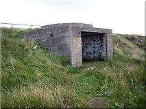 NJ9605 : A wartime bunker by Stanley Howe