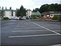 H4573 : Carpark, Silverbirch Hotel by Kenneth  Allen